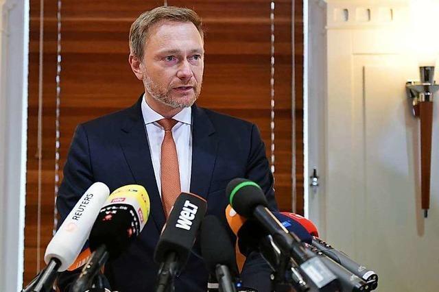 Die Rolle von FDP-Chef Lindner bleibt dubios