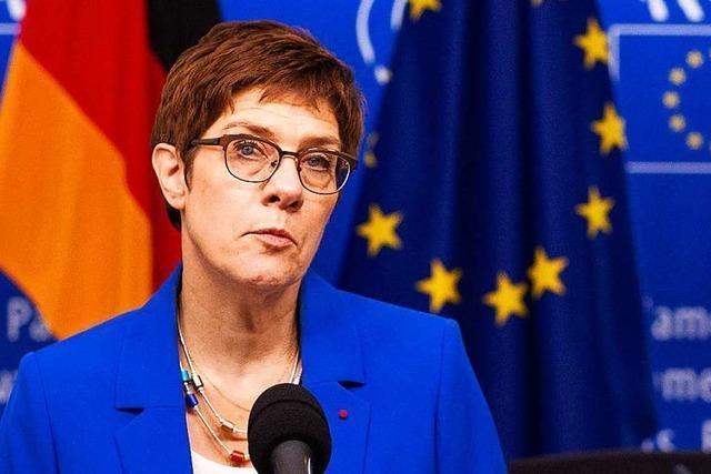 Thüringen zeigt, wie angeschlagen Kramp-Karrenbauer ist