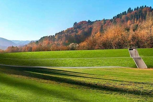 Bei Freiburg wird eine der größten Hochwasserschutzanlagen in Südbaden gebaut