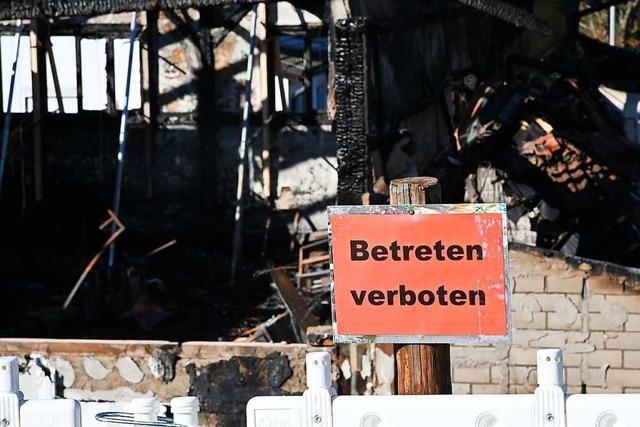 Nach dem Hallenbrand in Inzlingen zeigt das Dorf, wie stark es ist