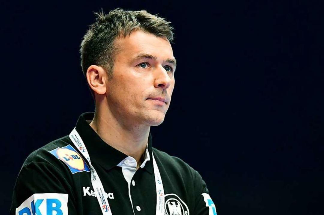 DHB trennt sich von Bundestrainer Prokop.  | Foto: Robert Michael (dpa)