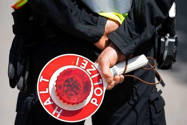 Polizei erwischt Autofahrer auf Amphetamin am Steuer