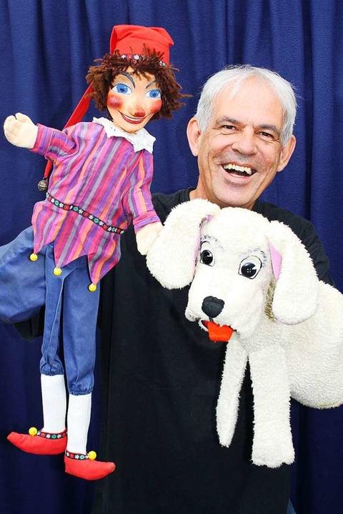 Johannes Minuth über die Geschichte des Puppenspiels promovierte.    Foto: Privat