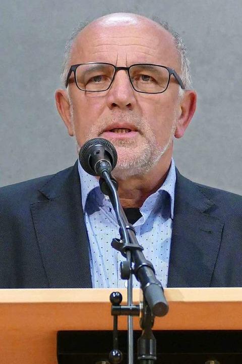 BLHV-Präsident Werner Räpple   | Foto: Frank Schoch