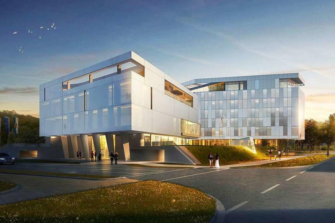 So soll das Emely-Hotel auf dem Geländ...– wenn es überhaupt gebaut wird.  | Foto: Archimedialab Ltd.