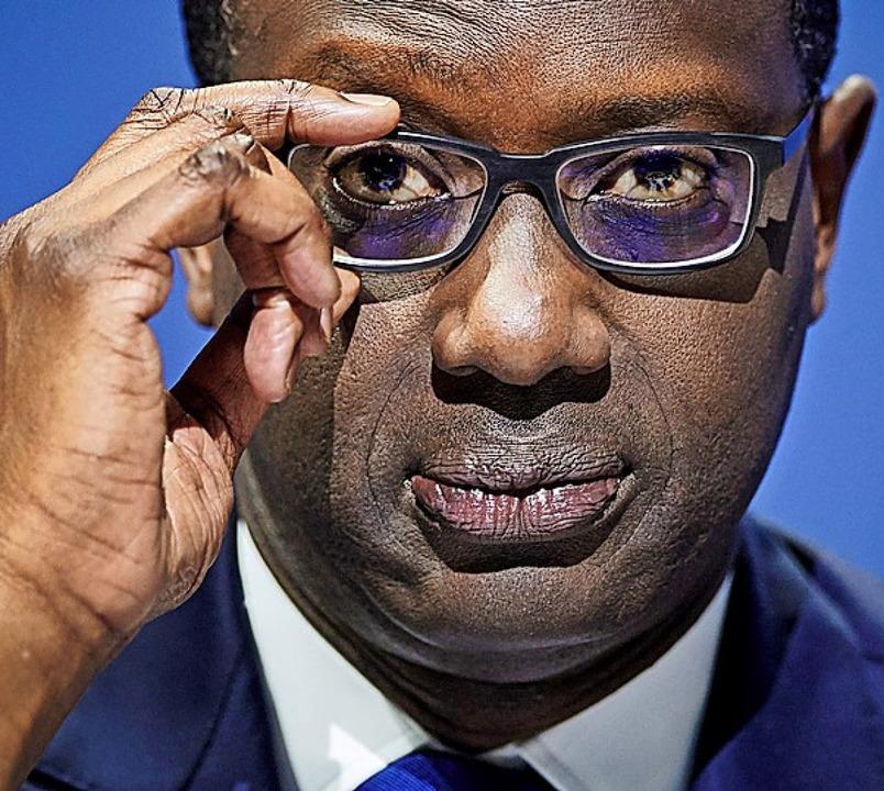 Tidjane Thiam  | Foto: MICHAEL BUHOLZER (AFP)