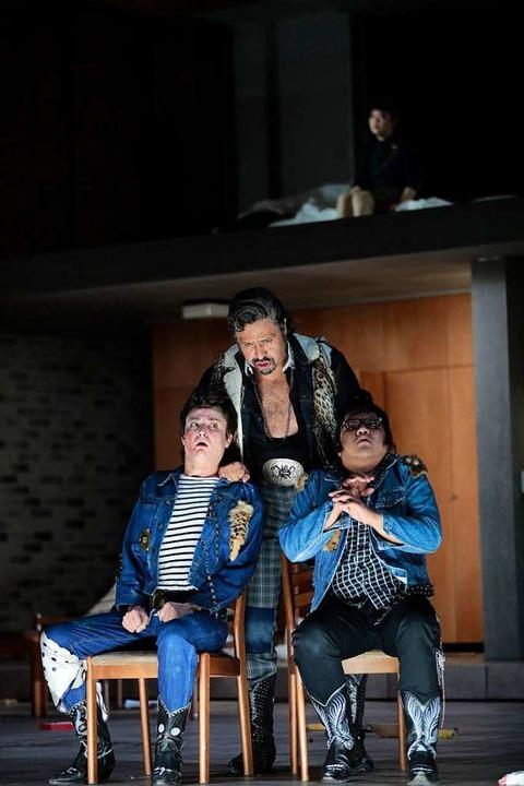Falstaff bringt alle außer Rand und Band.  | Foto: Paul Leclaire, Köln