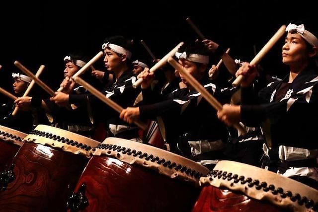 Ticketverlosung für die spektakuläre Trommelshow Kokubu in Bad Krozingen