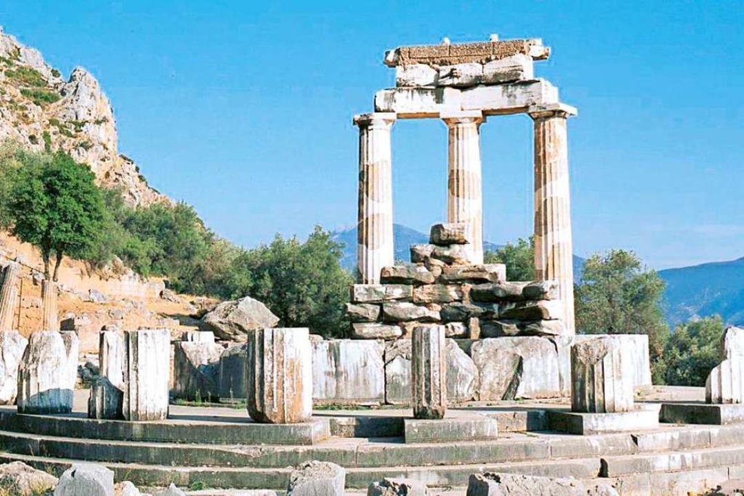 Athenatempel in Delphi  | Foto: mundo Reisen GmbH & Co. KG