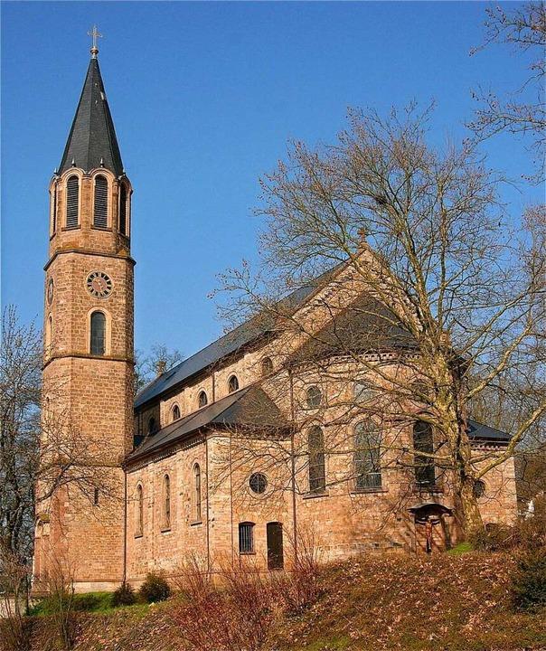 Die katholische Pfarrkirche St. Martin...em Entwurf von Heinrich Hübsch gebaut.  | Foto: Richard Kaiser