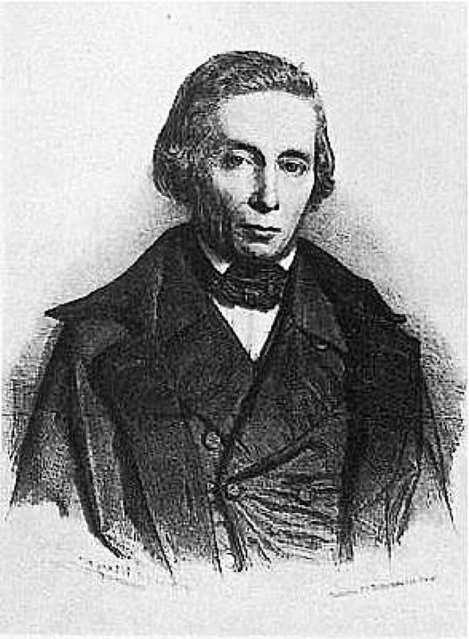 Heinrich Hübsch  | Foto: Repro Richard Kaiser