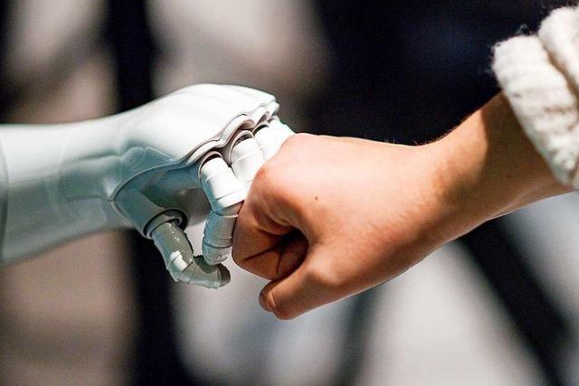 Wie Roboter unfallfrei mit Menschen zusammenarbeiten