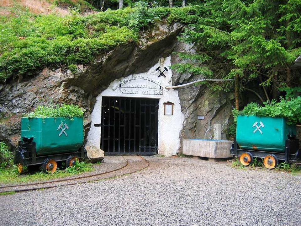 Das Bergwerk Finstergrund in Wieden  | Foto: Marlies Jung-Knoblich