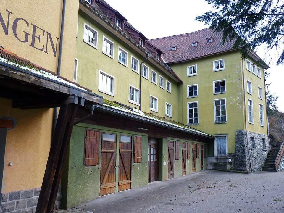 In der Aufarbeitungsanlage in Utzenfel...uziert. Sie dient heute als Reiterhof.  | Foto: Sattelberger