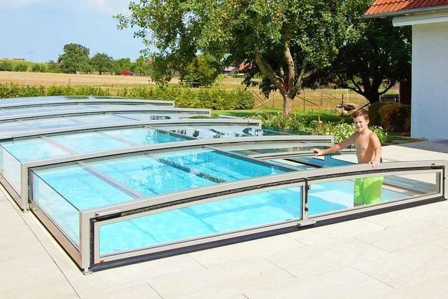 Schwimmbadabdeckungen aus Altenheim gehen nach ganz Europa