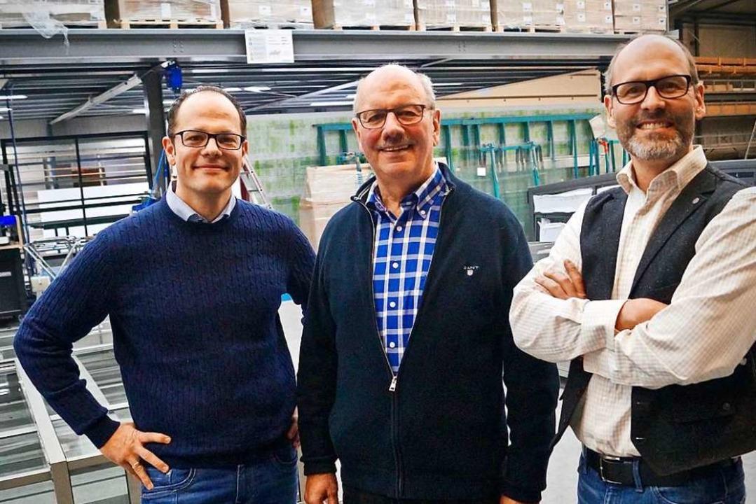 Die Firmenchefs: Senior Karlheinz Fels... Söhnen Carsten (links) und Boris Fels  | Foto: Christine Storck-Haupt