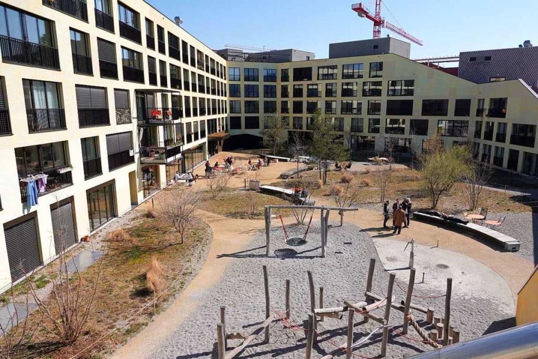 Ein genossenschaftliches Wohnbauprojekt in Zürich    Foto: Annika Grah