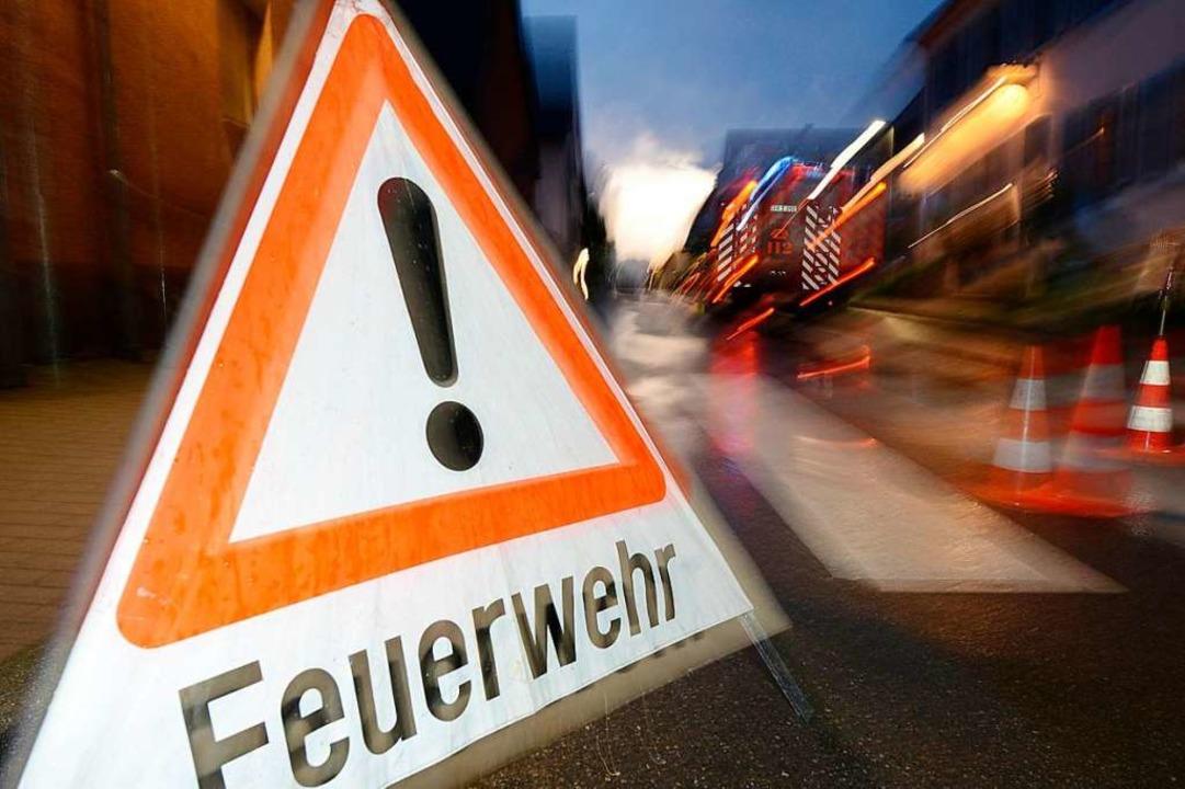 Feuerwehr Freiburg informiert über richtige Verhaltensregeln bei Unwetter.  | Foto: Patrick Seeger