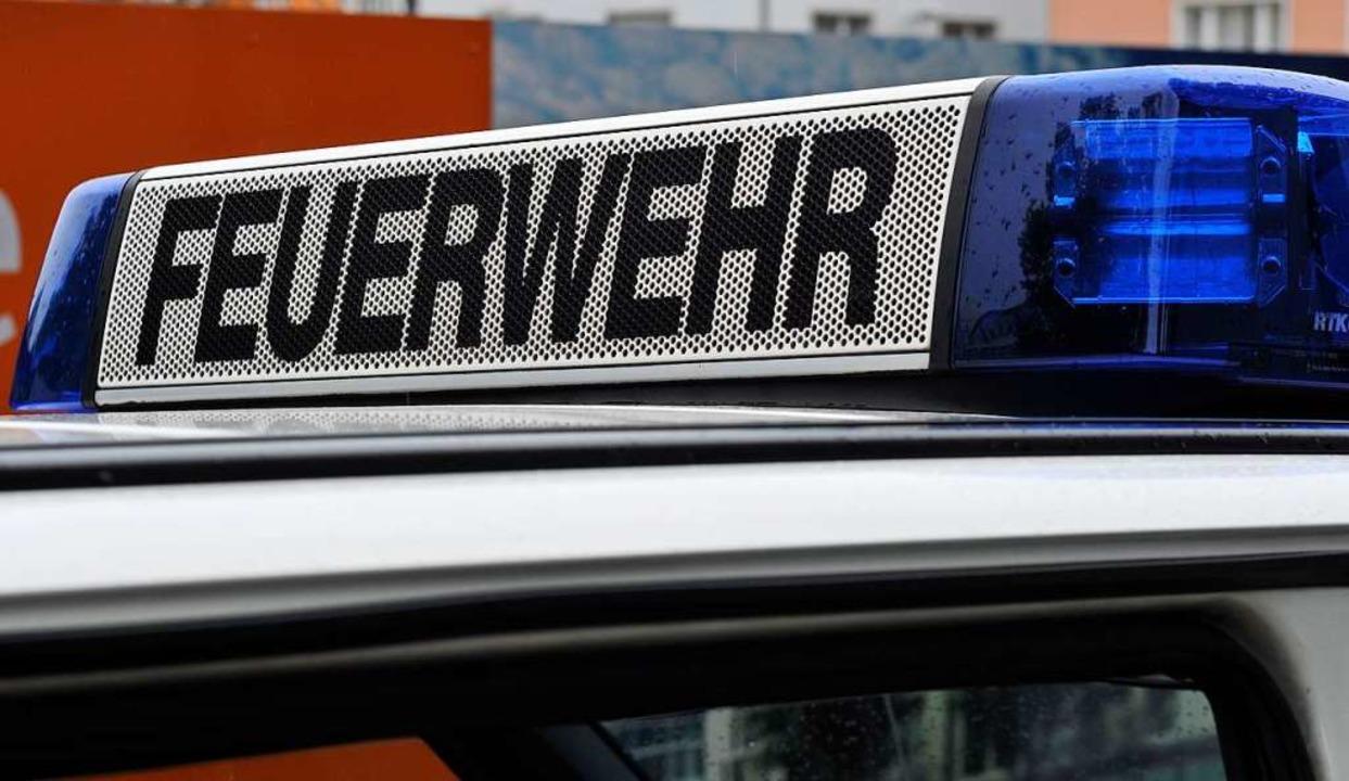 Zu einem Großeinsatz von Feuerwehr, Re...llung der Messe Freiburg (Symbolbild).  | Foto: Ingo Schneider