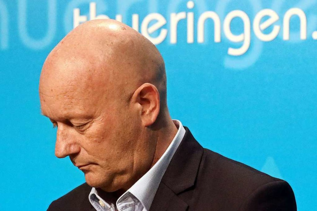 Thomas Kemmerich (FDP) war kurzzeitig Ministerpräsident von Thüringen.    Foto: Bodo Schackow (dpa)