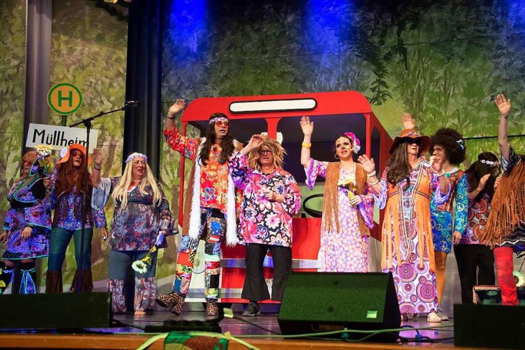 Die Hippies irrten über 50 Jahre lang ...er Power-Show nach Neuenburg abbiegen.  | Foto: Volker Münch