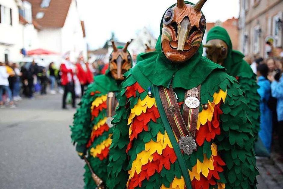 Umzug in Freiburg St.Georgen 2020 (Foto: Janos Ruf)