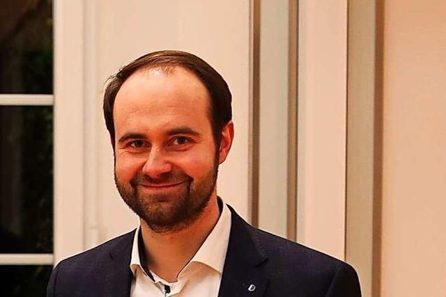 Schallstadts neuer Bürgermeister heißt Sebastian Kiss