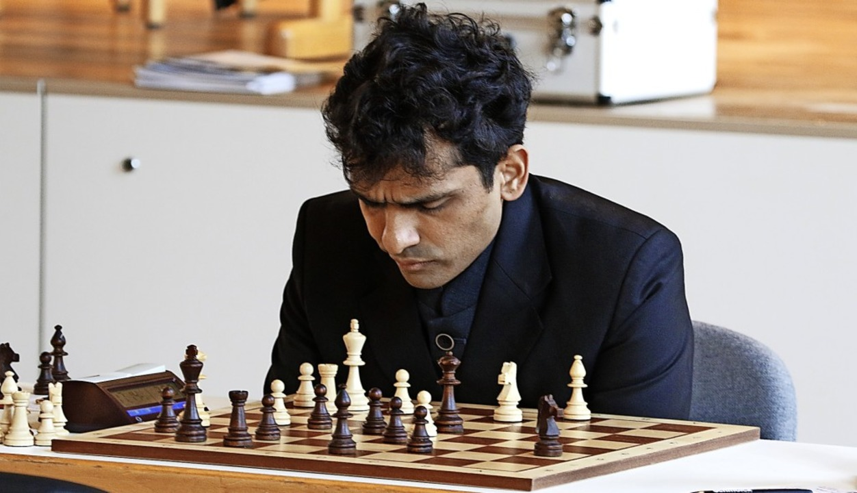 Der Emmendinger  Spitzenspieler  Krish...n wurde extra aus Indien eingeflogen.   | Foto: Lukas Karrer