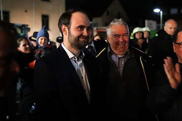 Sebastian Kiss wird neuer Bürgermeister von Schallstadt