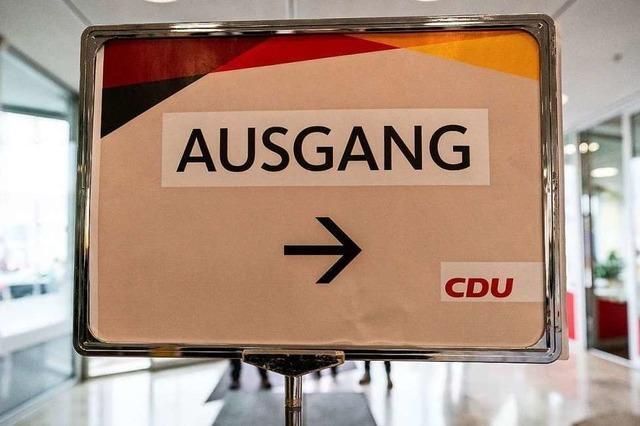 Die Chance der CDU für eine klare Kante