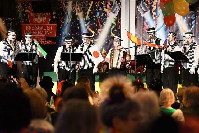 Freiburger Fasnetsrufer feiern nach Narrenstreit im Vorjahr ein Comeback
