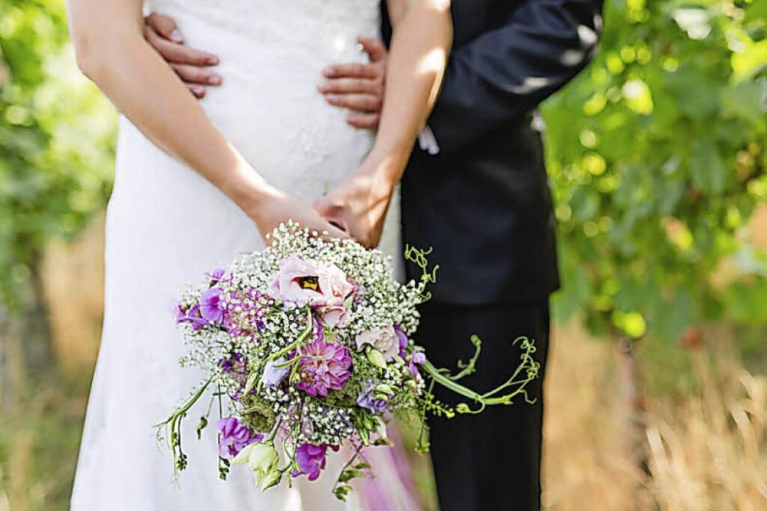 Mit Blumen der Saison und  aus der Region:   der Brautstrauß  | Foto: Dominic Rock