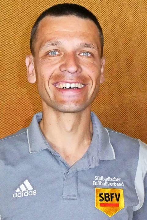 Michael Walther in Schiedsrichterkluft    Foto: Verband