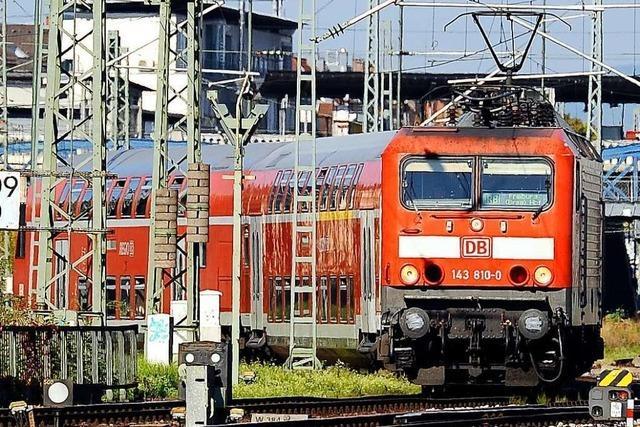 Polizei beendet Streit im Zug mit mindestens fünf Beteiligten