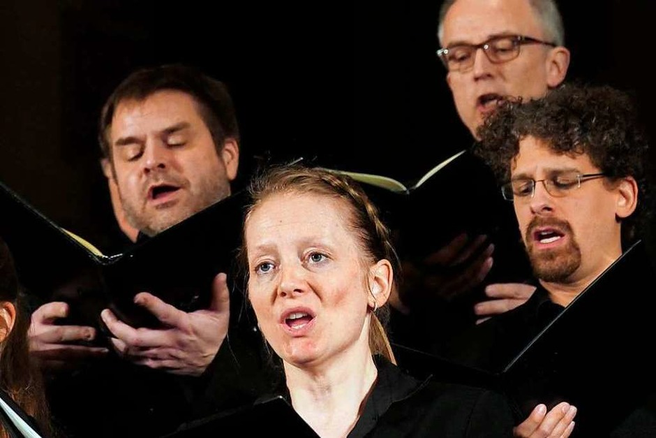 Der Frankfurter Kammerchor (Foto: Hans-Peter Müller)
