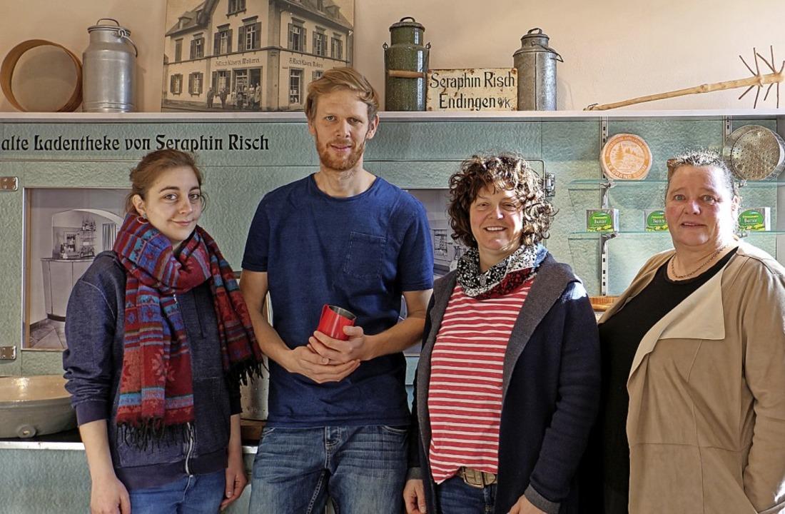 Sie sorgen für neues Leben im Käserei-...nd Tourismusbüro-Chefin Silke Vosbein.  | Foto: Ruth Seitz