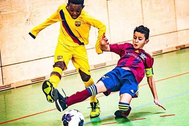 Fotos: FC Barcelona gewinnt PS-Immo-Cup in Weil