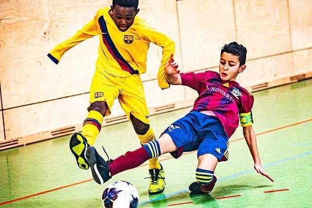 FC Barcelona gewinnt PS-Immo-Cup in Weil