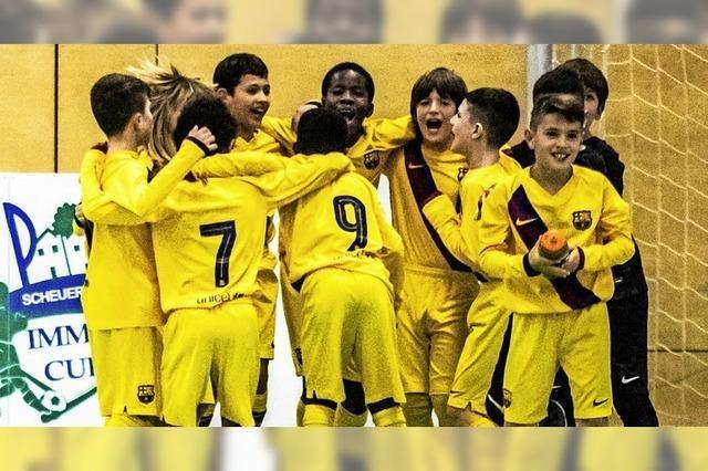 Eindrucksvolle Barca-Schule
