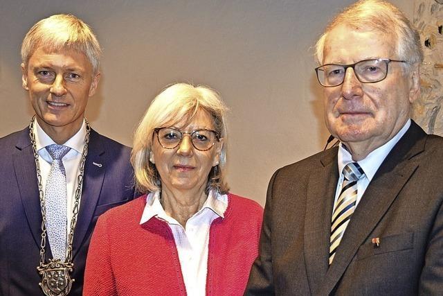 Staufen feiert Ehrenbürger Herbert Rinderle zum 80.