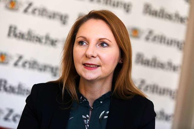 Landtagsabgeordnete Sandra Boser: