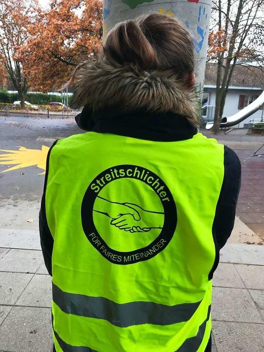 Sieben neue Streitschlichter wurden während des Projekts ausgebildet.    Foto: Christine Gatzweiler