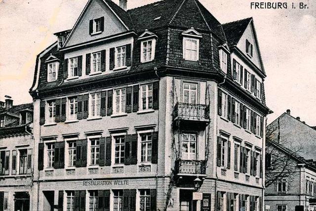 Teile des Freiburger Stadtteils Neuburg wurden 1944 fast vollständig zerstört