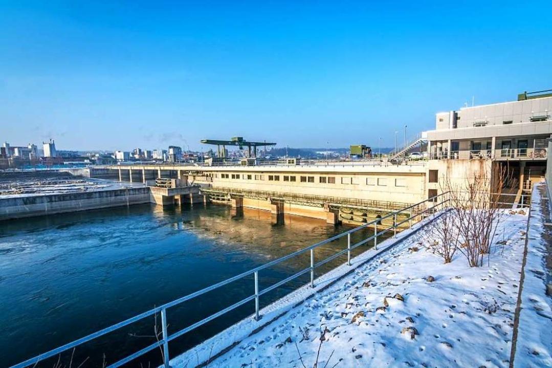 Das Kraftwerk in Rheinfelden    Foto: energiedienst