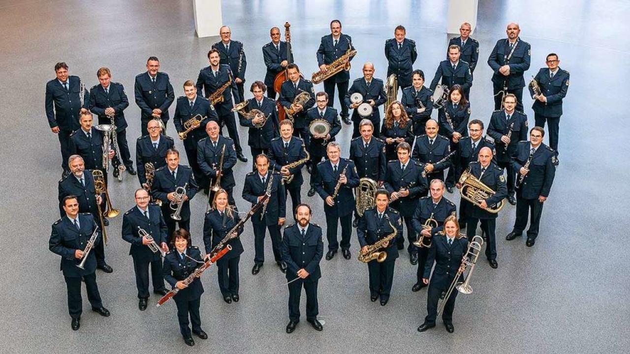 Das Bundespolizeiorchester München kommt am Dienstag nicht in den Breisgau.  | Foto: Alexandra Stolze