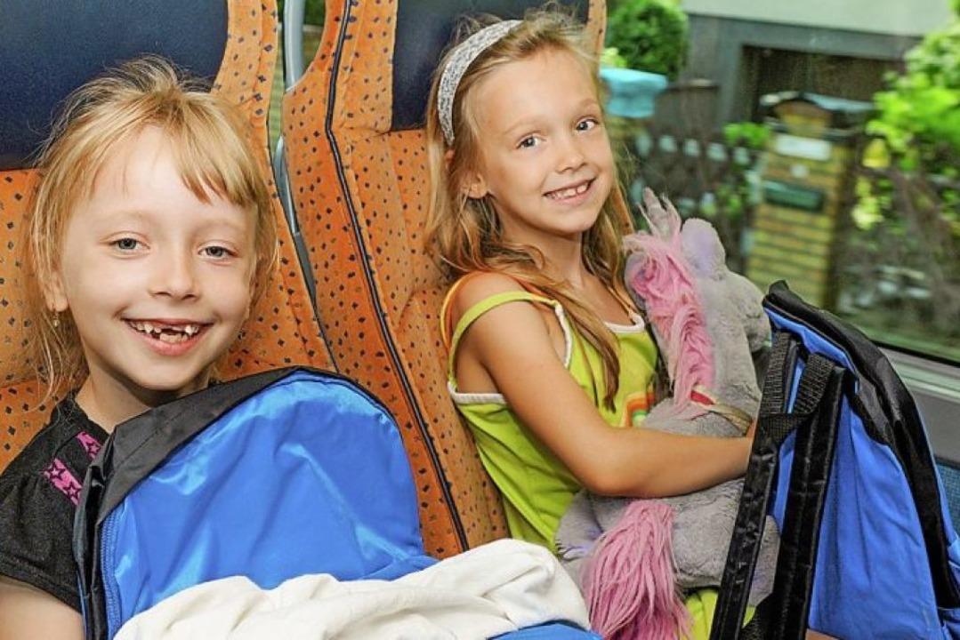 Gelassen mit  Kindern im Bus verreisen  | Foto: Peter Himsel bdo