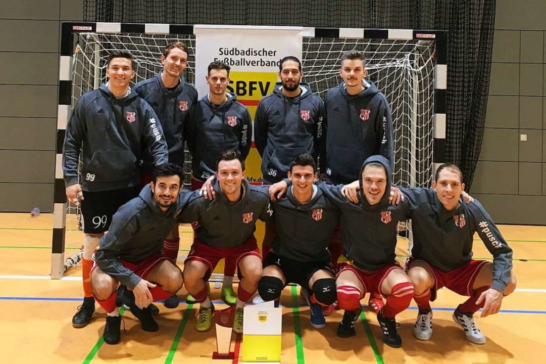 Das Siegerteam des Staufener SC  | Foto: Frank Uhle