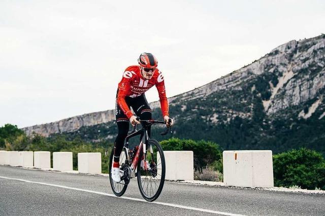 Wenn der Dopingkontrolleur mit auf die Toilette geht: Nico Denz aus Albbruck über das Leben als Radprofi