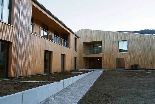 Mehrgenerationenhaus in Oberried ist nahezu fertiggestellt