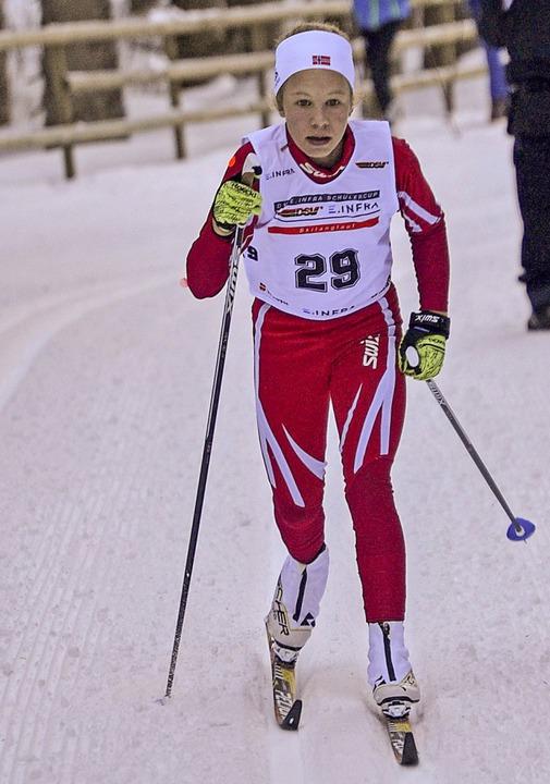 Klassik-Siegerin: Leonie Maier von der WSG Feldberg   | Foto: Helmut Junkel